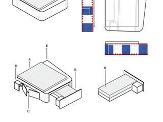 Multifunktion Bett :  Hotels von Minibau