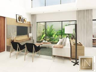 Modern living room by Isabela Notaro Arquitetura e Interiores Modern