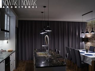 Dining room by Nowak i Nowak Architekci, Modern