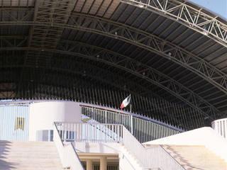 Stadiums by Duarte Aznar Arquitectos , Modern