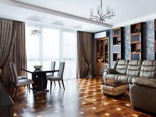 Мебель из разных сортов дерева Woodium — мебель ручной работы ГостинаяШкафы и серванты