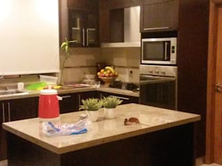 VIVIENDA SN: Muebles de cocinas de estilo  por BVS+GN ARQUITECTURA,Moderno