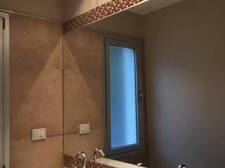 VIVIENDA BA: Baños de estilo  por BVS+GN ARQUITECTURA,Moderno