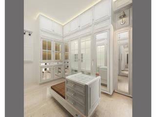 classic white wardrobe Kamar Tidur Klasik Oleh Lenny indriani design Klasik