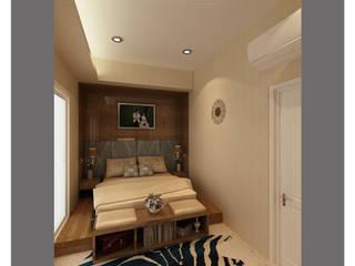 Modern minimalist bedroom Kamar Tidur Minimalis Oleh Lenny indriani design Minimalis
