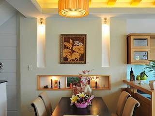 Salle à manger moderne par Công ty TNHH Xây Dựng TM – DV Song Phát Moderne