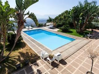 Villa a Palermo di FDR architetti -francesco e danilo reale Mediterraneo