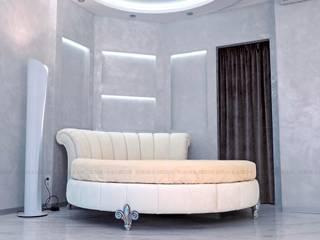 Круглая кровать:  в . Автор – Sofas&Decor