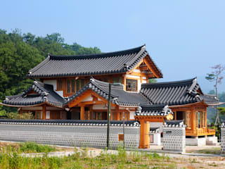 Asian style houses by 모노그래프 Asian