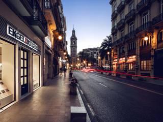 Locaux commerciaux & Magasins de style  par Gallardo Llopis Arquitectos