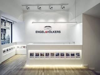 Oficinas en la Paz: Oficinas y Tiendas de estilo  de Gallardo Llopis Arquitectos