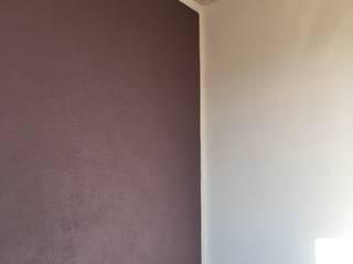 aplat de couleur pour un mur chaleureux Chambre minimaliste par Bleu d'avril Minimaliste