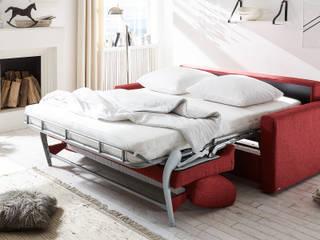 Schlafsofa Monza (rot):   von Sofawerk.de