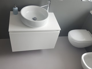 COVERMAX RESINE Modern style bathrooms