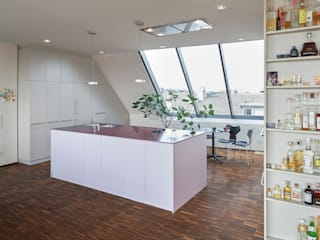 Projekty,  Kuchnia zaprojektowane przez Koitka Innenausbau GmbH