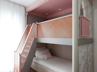 Girls Bedroom by Thiago Mondini Arquitetura, Eclectic