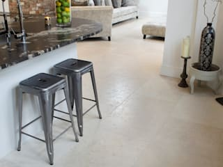 Contempoary Home: Florence Limestone Quorn Stone Dapur Modern Batu Kapur