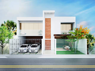 Casas de estilo moderno de Daniela Andrade Arquitetura Moderno