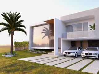 Rumah Modern Oleh Daniela Andrade Arquitetura Modern