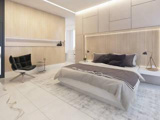 Dormitorios de estilo moderno de Daniela Andrade Arquitetura Moderno