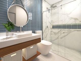 ห้องน้ำ by Daniela Andrade Arquitetura