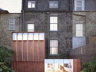 Terrace house by Architecture for London, Modern