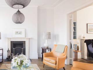 Islington House Architecture for London 现代客厅設計點子、靈感 & 圖片