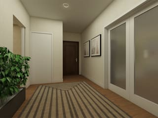 ShiStudio Interior Design Corridor, hallway & stairs Accessories & decoration