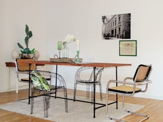 Industrial style dining room by Heimvorteil Homestaging Industrial
