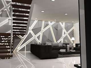 Salon de style  par Skaav Luxury Interiors