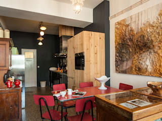 Dapur oleh Carlos Mota- Arquitetura, Interiores e Design, Eklektik