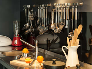 Cocinas eclécticas de Carlos Mota- Arquitetura, Interiores e Design Ecléctico