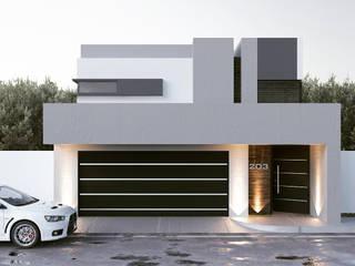 Rumah Modern Oleh gb arquitecto Modern