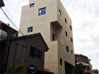 청담동 근린생활시설: (주)건축사사무소 예인그룹의  계단