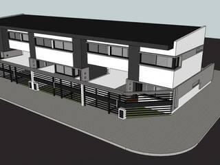 Imagen del frente: Casas de estilo moderno por Gigante ::: Estudio de Arquitectura