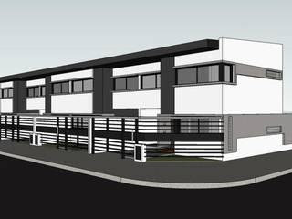 Imagen de esquina: Casas de estilo moderno por Gigante ::: Estudio de Arquitectura
