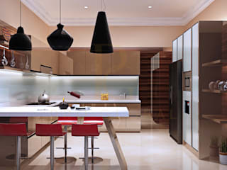 Kitchen Set & Credenza TV - Nadia - Mampang:  Kitchen by Pro Global Interior