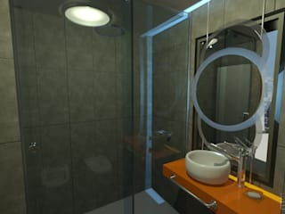 Minimalist bathroom by Estudio Equilibrio Minimalist