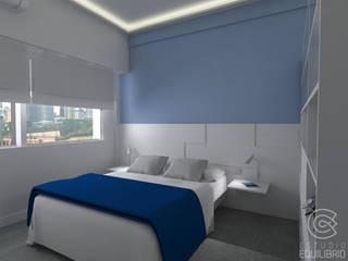 Спальня в стиле минимализм от Estudio Equilibrio Минимализм