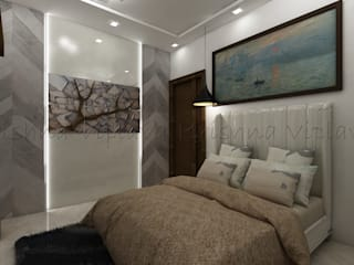 Bedroom homify Modern style bedroom