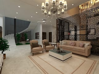Living room by Regalias India Interiors & Infrastructure