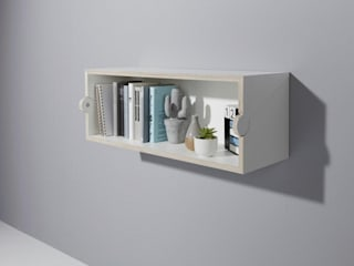 studio michael hilgers Living roomStorage Engineered Wood
