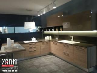 Yankı Mutfak Banyo – L şeklinde mutfak modelleri rezene: modern tarz , Modern