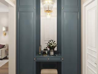 ЖК MONODOM Коридор, прихожая и лестница в классическом стиле от частный дизайнер интерьера Классический