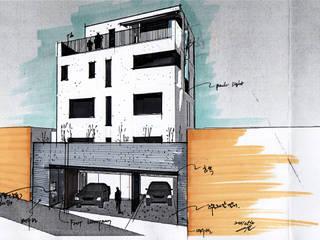 香隣齎: (주)건축사사무소 예인그룹의  계단