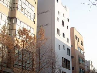 GAEA BUILDING: (주)건축사사무소 예인그룹의  계단