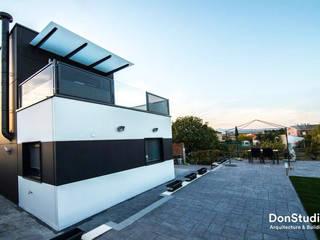 Vivienda Escalona Casas de estilo moderno de DonStudio Moderno