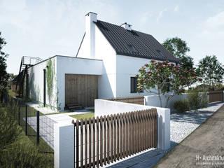 Dom PS | Biała Podlaska: styl , w kategorii  zaprojektowany przez H+ Architektura