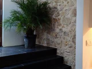 Entrada Paellero: Pasillos y vestíbulos de estilo  de claracabrera.ARQUITECTA
