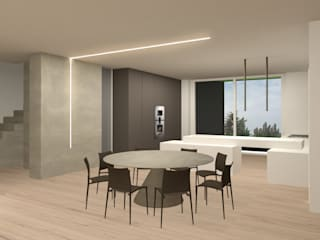 Giemmecontract srl. Modern dining room